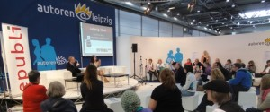Autoren @ Leipzig Forum mit Emily Bold und David Gray